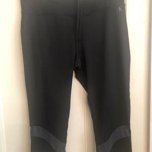 Danskin Now Other - Sz L Danskin Cropped/Fitted/Black Women's Workout